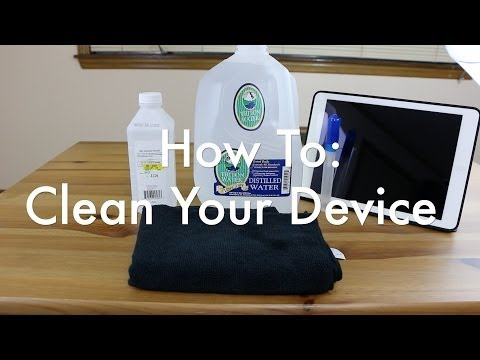 How To Make Your Own Device Cleaner