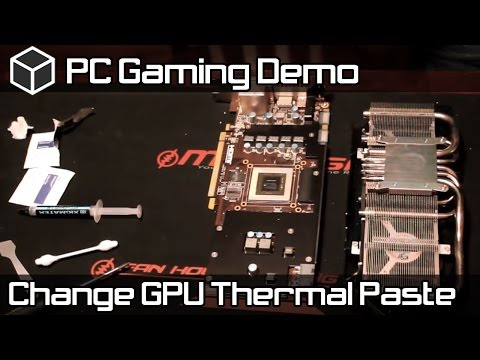 GPU Thermal Paste Upgrade - Fix Overheating Video Card
