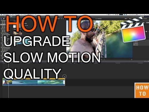 How to Upgrade Quality of Slow Motion in Final Cut Pro X