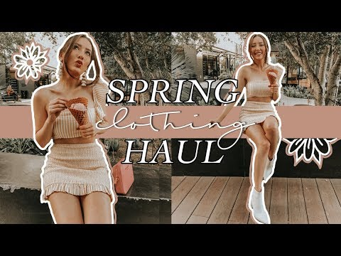 SPRING 2018 HAUL | CLOTHING, SHOES + GIVEAWAY!