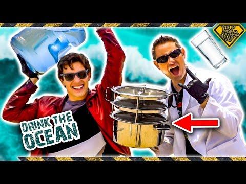Making Ocean Water DRINKABLE
