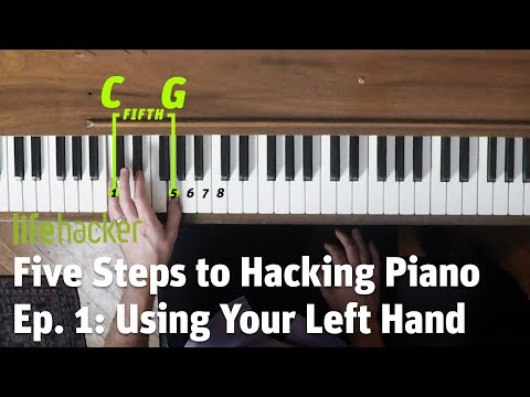 How to Fake Playing Piano: Lesson 1