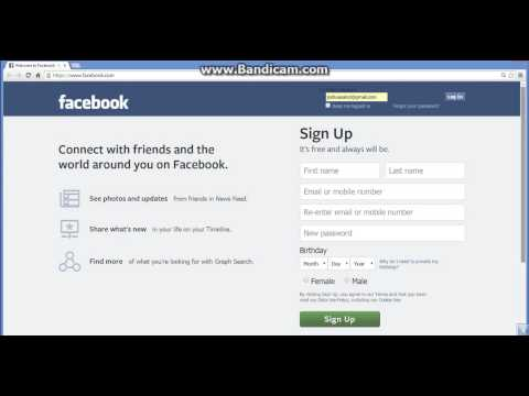 how to open facebook without password