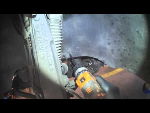 VW 7L: Fish tank draining... on a Touareg.