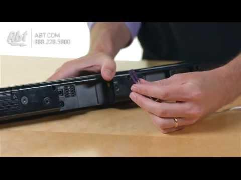 Samsung Black 2.1 Channel Soundbar Audio System HW-J355/ZA - Overview