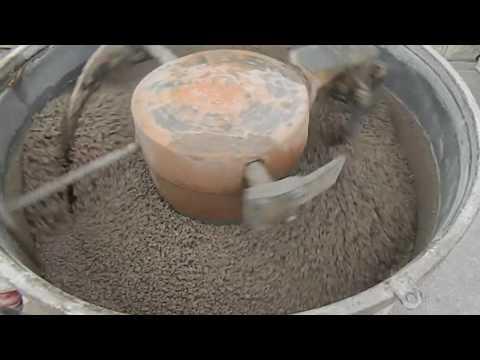 Concrete pan mixer M 250P  METALIKA  with passive planetary mixing