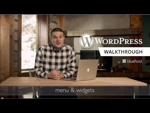WordPress Walkthrough Series (8 of 10) - Menu & Widgets