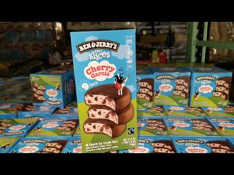 Costco! Ben & Jerry's Pint Slices Cherry Garcia Ice Cream Bars - 9 Pack $9!!!