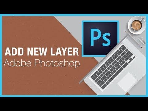Add New Layer - Adobe Photoshop