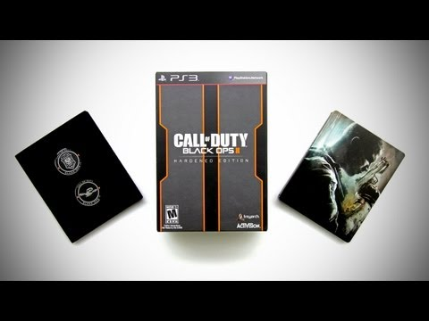 Call of Duty Black Ops 2 Hardened Edition Unboxing