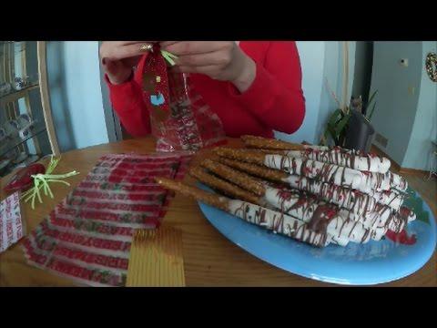 Holiday Christmas Pretzels (HOW TO MAKE)
