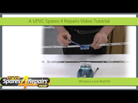 Universal Upvc Window Lock Rod Repair Kit For Offset and Inline Window Repairs