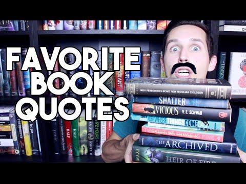 10 FAVORITE BOOK QUOTES