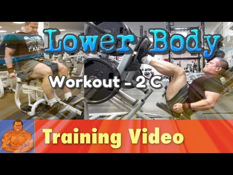 Lower Body Workout - 2C - Thighs, Calves, and Abs
