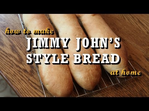 How to Make Jimmy John's Style Bread at Home