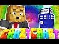 DR WHO TARDIS DIMENSION - MINECRAFT'S OLDEST MOD PACK CRAZY CRAFT SURVIVAL #17