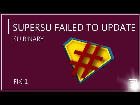[2018] SuperSu failed to update SU binary | 100% WORKING |