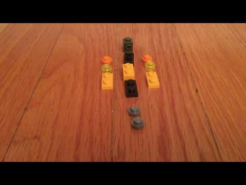 How to make a mini lego bumblebee