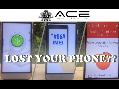 Find Lost Phone | Android Device Manager | IMEI Tracking