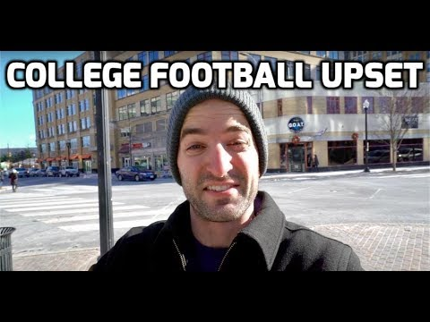 COLLEGE FOOTBALL CHAMPIONSHIP UPSET | VLOG 004