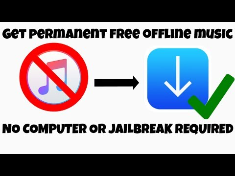 HOW TO GET FREE OFFLINE MUSIC | PERMANENT | (NO COMPUTER) (NO JAILBREAK) | IOS 8-11