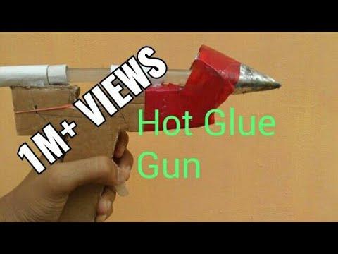 How to make a hot glue gun at home.