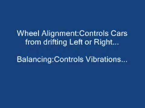 Wheel alignment and Balancing