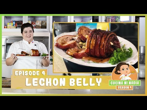 Cucina Ni Nadia 4 Lechon Belly Episode 4