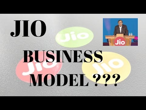 how jio telecom earn morney?? (jio business model)
