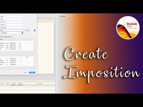 How to create a Imposition layout in Preps 6 (Booklet 32 pages)