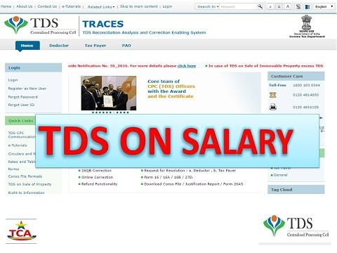 TDS On Salary Calculations