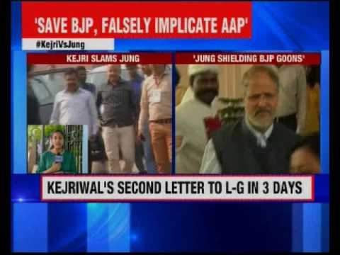 Kejriwal's second letter to L-G in 3 days
