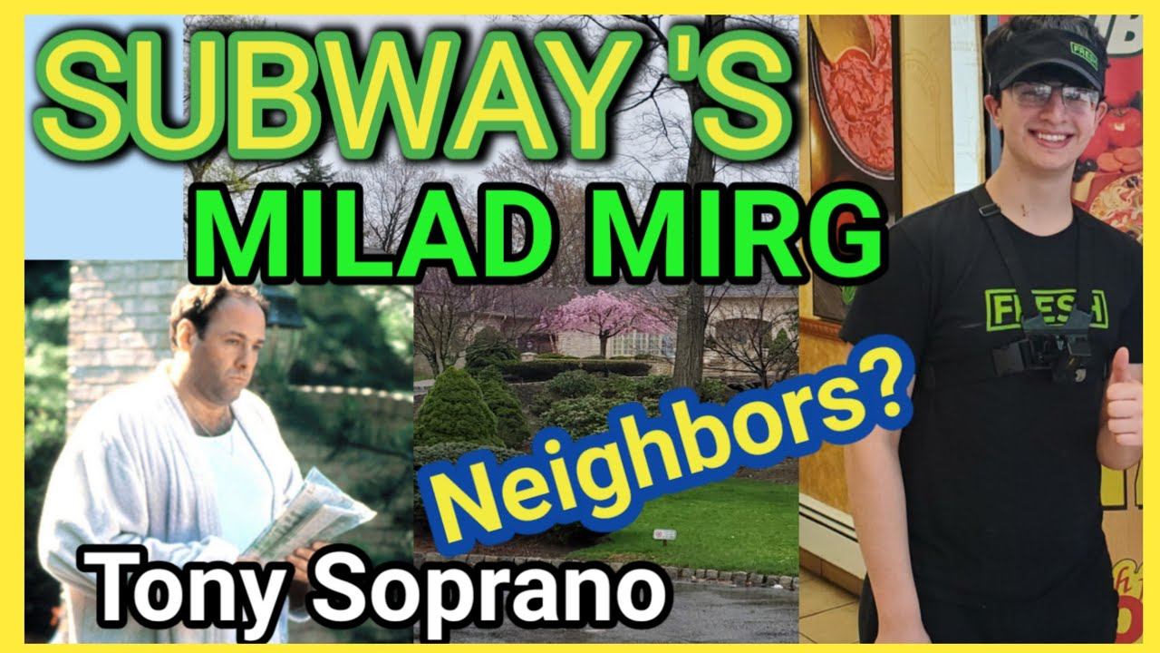 Finally got to meet @Milad Mirg great kid - Neighbor to Tony Soprano - GAVE OUT FREE FOOD.