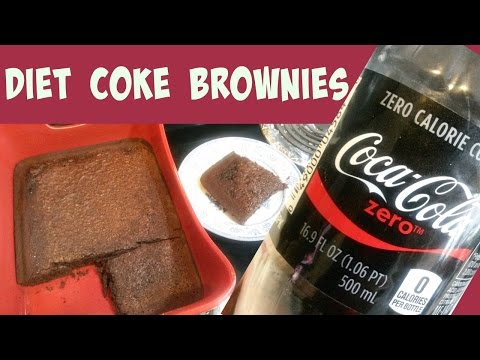 BROWNIES MADE WITH DIET COKE????