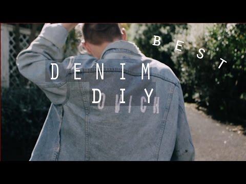 DIY Embroidered LEVI'S Vintage Denim Jacket | Men's Fashion | Zac Macfarlane