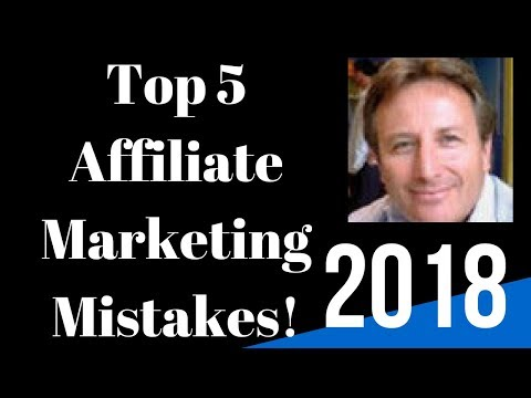 Top 5 Affiliate Marketing Mistakes Most People Don't Want to Talk About