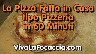 Ricetta Pizza Veloce Senza Lievito