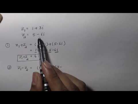 Adding, Subtracting, Multiplying and Dividing Complex Numbers (Hindi) | NCERT 11 Class Maths