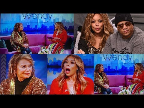 Roseanne SHADES WENDY WILLIAMS and her CHEATING Husband LIVE on The Wendy Williams Show!