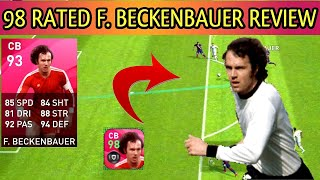 ICONIC F. BECKENBAUER REVIEW PES 2020 MOBILE| 98 RATED ICONIC F. BECKENBAUER LEGENDS|PES TIPS WORLD