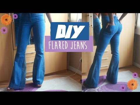 🌸 DIY flared jeans| FASHION FIX EP 4 | Birabelle 🌸