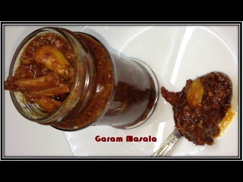 Kerala Style Dry Fish Pickle/ Unakka Meen Achar by Garam Masala