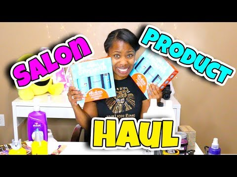 HAIR SALON PRODUCT HAUL - WHAT I BOUGHT FOR MY HAIR SALON 2018