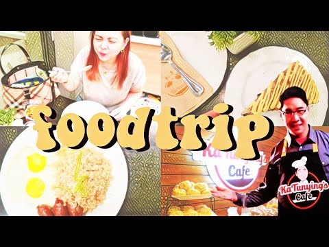 pinoy food trip ⍣ day in the life in manila \\  TheWickeRmoss