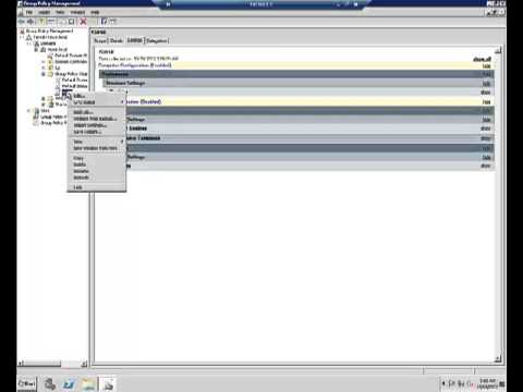 Importing GPO and Linking to OU