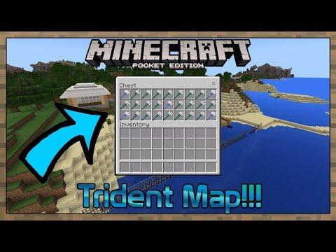 1.2.13.8 MCPE Trident Enchantment Map