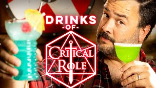 Cocktails from Critical Role   How to Drink