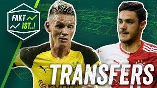 Download Transfer News: Kabak über Stuttgart nach Bayern? Gladbach will Man City Talent! BVB: Noch ein Wolf? Video