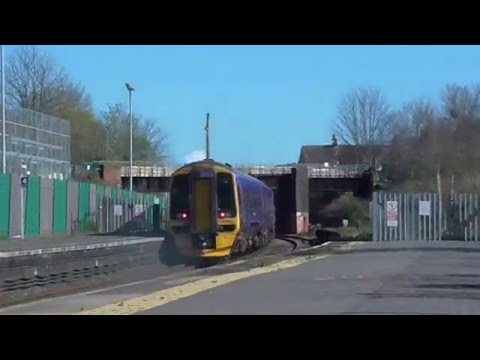 158952 2B06 Bristol Temple Meads   Cardiff Central