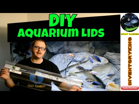 HOW TO Build Plastic Aquarium Lids | Fully Customizable | Cheap And Easy DIY Project | Step By Step